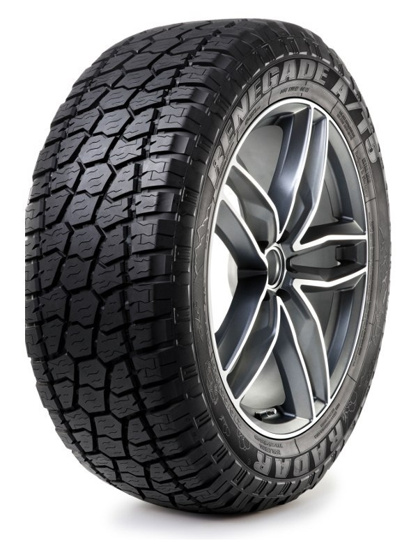 RADAR LT255/75R17 RENEGADE AT-5 111/108Q 10PR #E M+S 3PMSF RZD0044